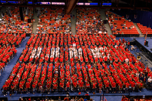 Students at UIC Convocation